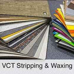 vct stripping and waxing
