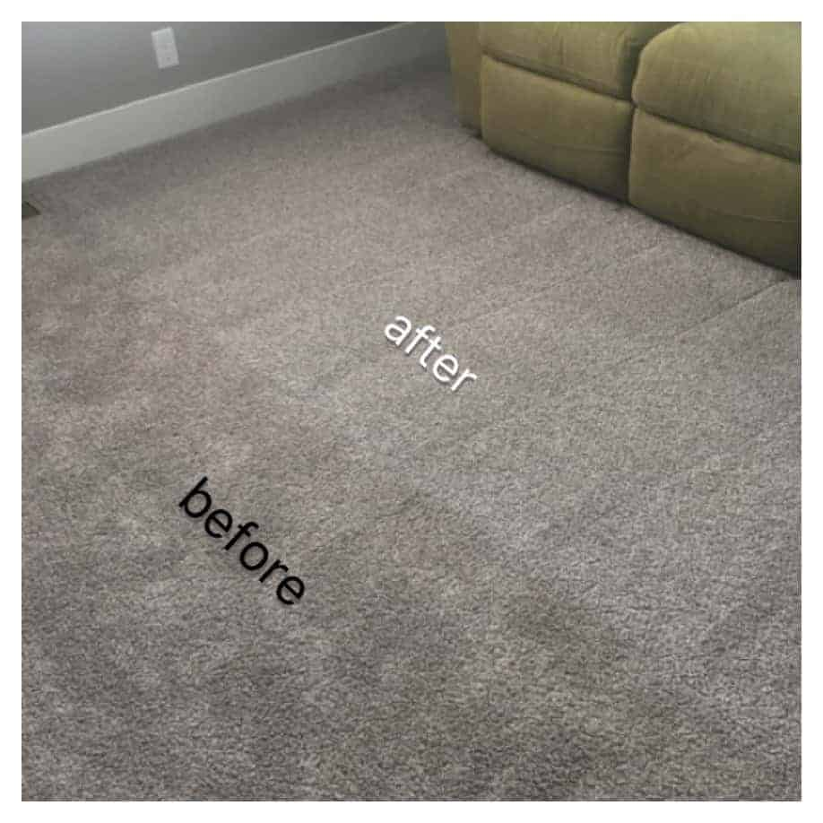 carpet cleaning done by Carolina Kwik Dry